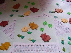 折紙カレンダー
